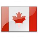 Flag Canada Icon 128x128