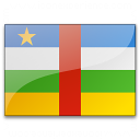 Flag Central African Republic Icon 128x128