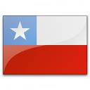 Flag Chile Icon 128x128