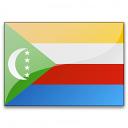 Flag Comoros Icon 128x128