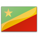 Flag Congo Republic Icon 128x128