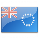 Flag Cook Islands Icon 128x128
