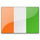 Flag Cote Divoire Icon 128x128
