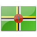 Flag Dominica Icon 128x128