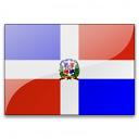 Flag Dominican Republic Icon 128x128