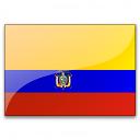 Flag Ecuador Icon 128x128