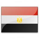Flag Egypt Icon 128x128
