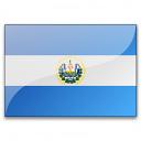 Flag El Salvador Icon 128x128