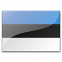Flag Estonia Icon 128x128