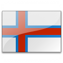 Flag Faeroe Islands Icon 128x128
