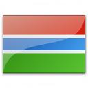 Flag Gambia Icon 128x128