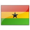 Flag Ghana Icon 128x128