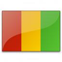 Flag Guinea Icon 128x128