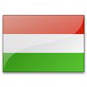 Flag Hungary Icon 128x128