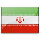 Flag Iran Icon 128x128