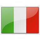 Flag Italy Icon 128x128