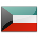 Flag Kuwait Icon 128x128