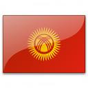 Flag Kyrgyzstan Icon 128x128