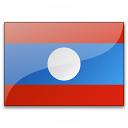 Flag Laos Icon 128x128
