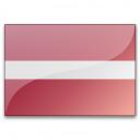 Flag Latvia Icon 128x128