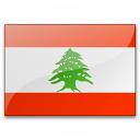 Flag Lebanon Icon 128x128