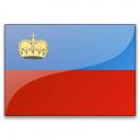 Flag Liechtenstein Icon 128x128