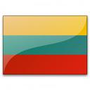Flag Lithuania Icon 128x128