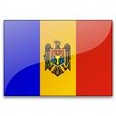 Flag Moldova Icon 128x128