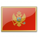 Flag Montenegro Icon 128x128