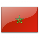 Flag Morocco Icon 128x128