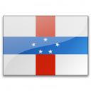 Flag Netherlands Antilles Icon 128x128