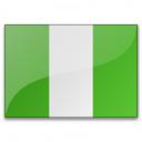 Flag Nigeria Icon 128x128