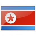 Flag North Korea Icon 128x128
