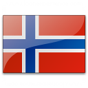 Flag Norway Icon 128x128