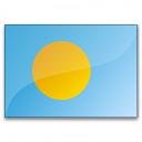 Flag Palau Icon 128x128
