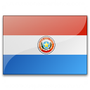 Flag Paraguay Icon 128x128