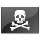Flag Pirate Icon 128x128