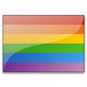 Flag Rainbow Icon 128x128