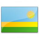 Flag Rwanda Icon 128x128