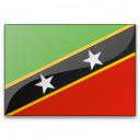 Flag Saint Kitts And Nevis Icon 128x128