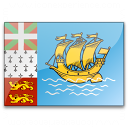Flag Saint Pierre And Miquelon Icon 128x128
