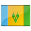 Flag Saint Vincent And The Grenadines Icon 128x128