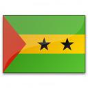 Flag Sao Tome And Principe Icon 128x128