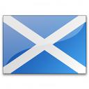 Flag Scotland Icon 128x128