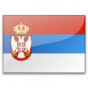 Flag Serbia Icon 128x128