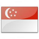 Flag Singapore Icon 128x128