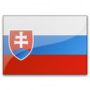 Flag Slovakia Icon 128x128
