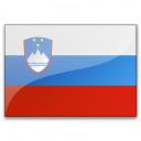 Flag Slovenia Icon 128x128