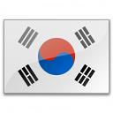 Flag South Korea Icon 128x128