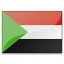 Flag Sudan Icon 128x128